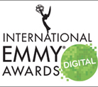 "DINA FOXX wird mit dem Digital Emmy Awards 2015 in der Kategorie ""Digital Program: Fiction"" ausgezeichnet"